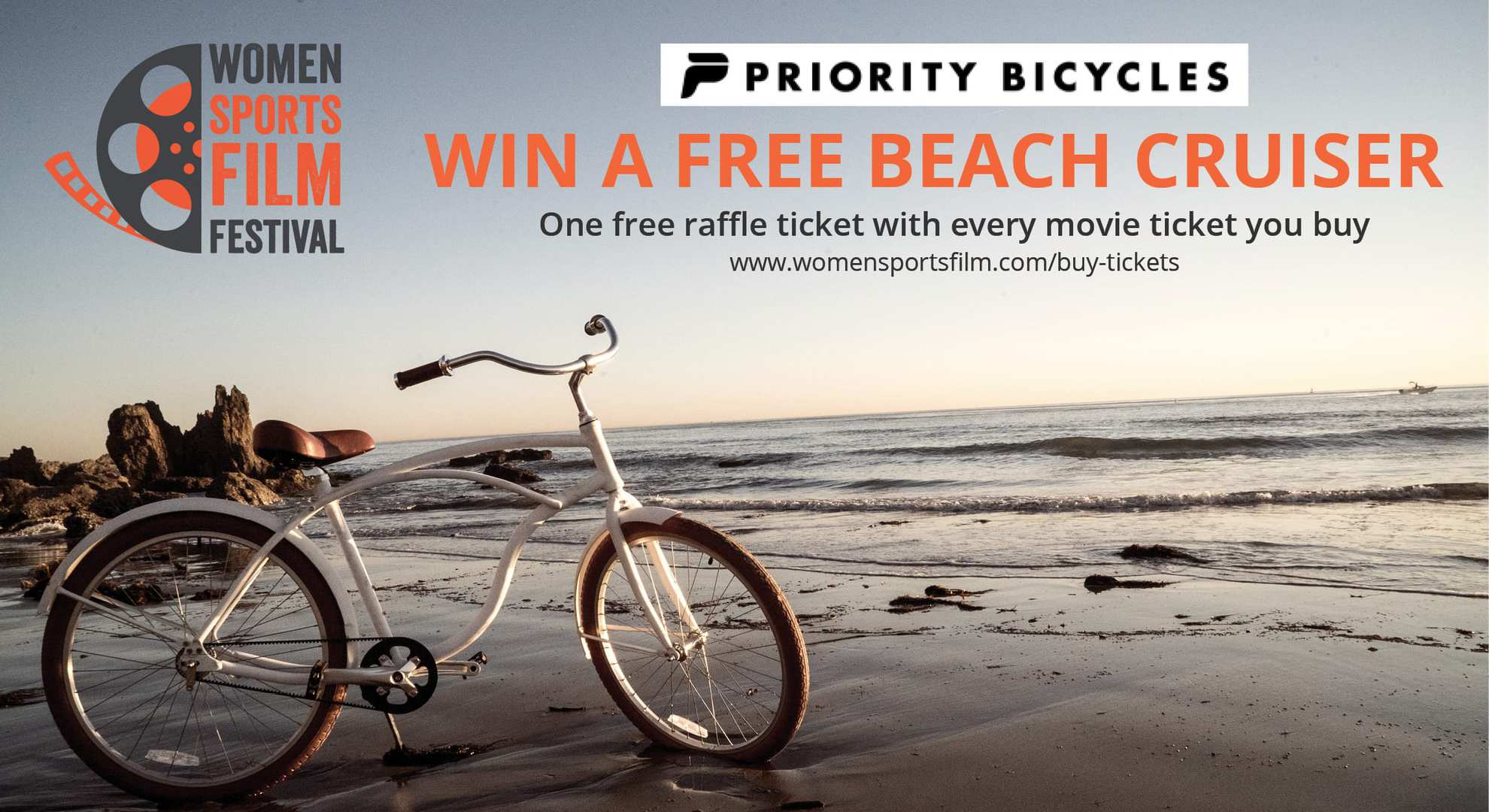 Win a Beach Cruiser from Priority Bikes